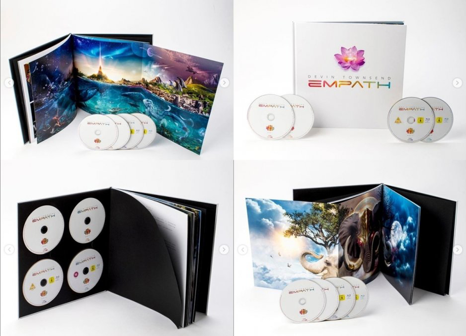 The ultimate Edition of Empath by Devin Townsend